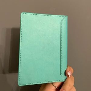 Other - Turquoise leather passport holder